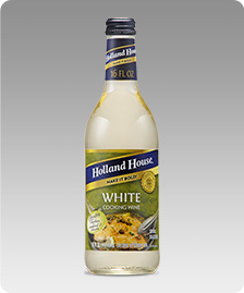 White Cooking Wine bottle